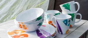 16 PIECE MELAMINE SETS £24.00