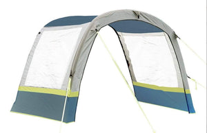 Cocoon Breeze Extension - Grey/Lime Awning Accessories OLPRO