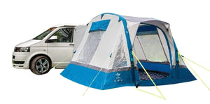Cubo Breeze Inflatable Campervan Awning Camper van Awning Blue & Grey