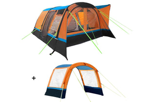 Cocoon Breeze Campervan Awning Orange Package Camper van Awning Camper Van Awning Bundle