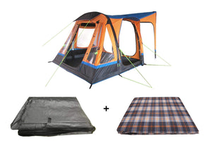 LOOPO BREEZE ORANGE INFLATABLE CAMPERVAN AWNING PACKAGE Camper van Awning OLPRO