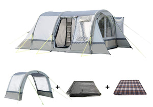 The Cocoon Awning Package Sage/ Chalk Camper van Awning OLPRO