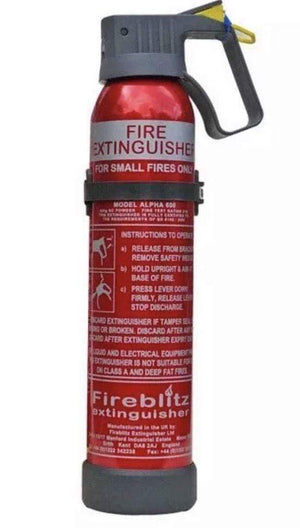 Campervan , Car, Caravan and Small Property Fire Extinguishers - Fireblitz Campervan Accessories OLPRO