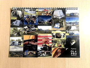 OLPRO 2021 Calendar - In Support Of Make-A-Wish UK Camping Accessories OLPRO