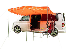 Toile de camping-car Canopy canopy Orange