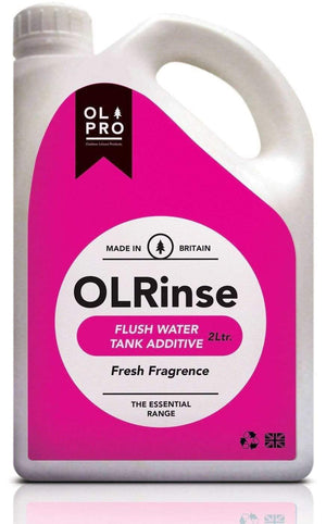 OLPRO OLRinse - Great Value Toilet Rinse (2L) Chemicals Camping & Caravan Chemical