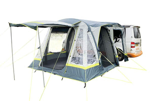 PRE ORDER Deposit For Loopo Breeze Campervan (Light Grey/ Lime) - Back in stock April Drive Away Awning Pay $15.00 Now and the Balance Before Dispatch