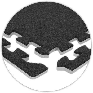 OLPRO Foam Carpet Tile Edges (Pack of 8) Foam Carpet Tiles Carpet Tiles