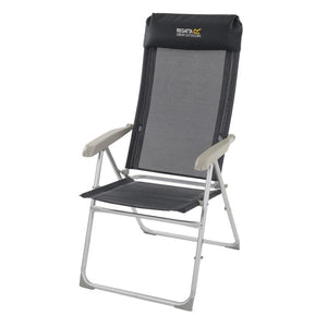 Regatta Colico Hard Armed Black Chair Furniture Regatta