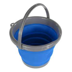 5L Folding Bucket Oxford Blue Housewares OLPRO