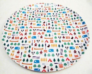 "BERROW HILL MELAMINE 8"" PLATE (2013 Shape) Melamine Camping Tableware Sets"