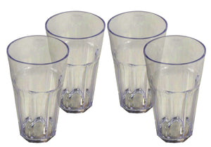 Pack of Four 450ml Camping Tumblers Melamine OLPRO