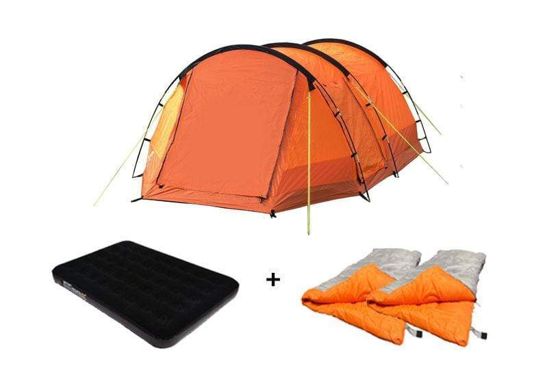 OLPRO Abberley Orange 2 Berth Tent Camping Package