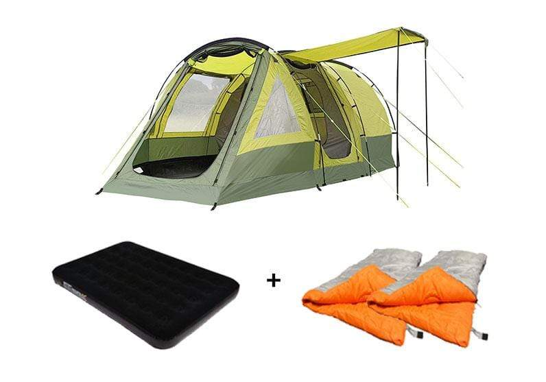 OLPRO Abberley Xl 4 Berth Family Tent Camping Package