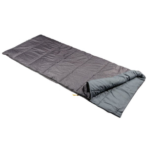 Maui Polyester Lined Single Sleeping Bag - Grey Marl Regatta