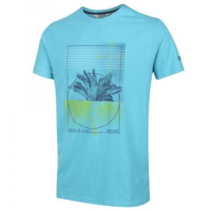 T-Shirt Graphique Homme Cline IV - Maudi Blue OLPRO