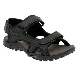 Men's Haris Black Sandals OLPRO
