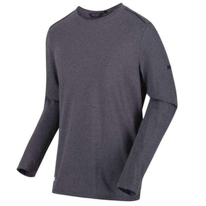 T-Shirt Homme Karter II Coolweave Lightweight Long Sleeve - Seal Grey OLPRO