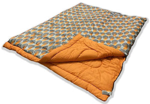 OLPRO Dark Moon Pattern Double 300gsm fill Sleeping Bag OLPRO