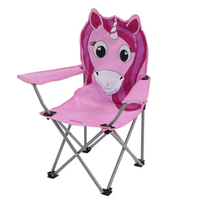 Regatta Kids Animal Lightweight Folding Camping Chair - Unicorn OLPRO