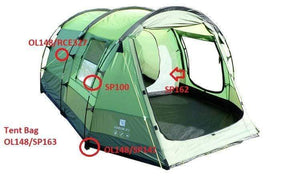 Spare Parts For Abberley Two Person Tent OLPRO