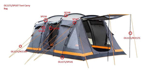 Spare Parts For Orion Tent OLPRO