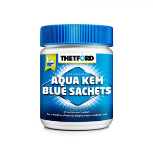 THETFORD AQUAKEM BLUE SACHETS (CAN OF 15) Chemicals Thetford