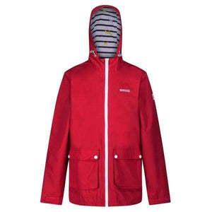 Women's Baysea Rain Jacket - True Red OLPRO