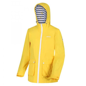 Women's Baysea Rain Jacket - Yellow Sulphur OLPRO