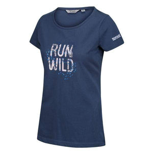 Women's Breezed Graphic T-Shirt - Dark Denim OLPRO