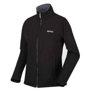 Women's Connie V Softshell Jacket - Black OLPRO