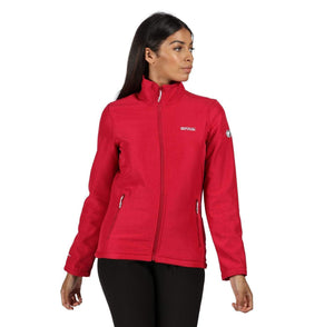 Women's Connie V Softshell Jacket - Dark Cerise Marl OLPRO