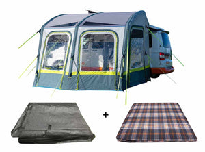 PRE ORDER For Lunar Campervan Awning Package, Carpet & Footprint - New For 2021 Pre Order Now