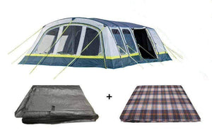 PRE-ORDER for Odyssey Breeze 8 Berth Tent Package - Carpet & Footprint - Back in stock May Pre Order Now