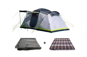 PRE-ORDER Gemini - 4 Person vis-à-vis Tent - Tent, Carpet & Footprint - New for April 2021 Pre Order Now