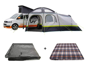 PRE-ORDER The Hive Campervan Awning Package - Awning, Footprint & Carpet - New for 2021 Pre Order