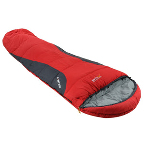 Hilo 300 Double Layer Lined Ripstop Mummy Sleeping Bag Pepper Red Regatta