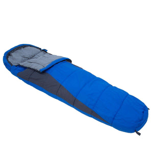 Hilo 200 Lined Ripstop Mummy Sleeping Bag Oxford Blue Sleeping Bag OLPRO