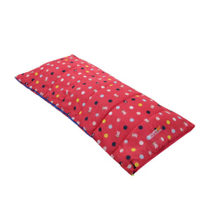 Kids Sleeping Bag Peppa Bright Blush Polka Sleeping Bag Regatta