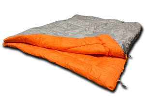 OLPRO Hush Plain Double 300gsm fill Sleeping Bag Sleeping Bag Sleeping Bags