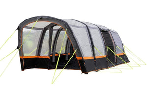 Explorer 4 Berth Inflatable Tent Tents Grey, Black & Orange