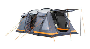 Orion 6 Berth Tent Tents Grey, Black & Orange