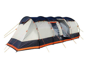 The Wichenford 3.0 8 Man Tent Grey, Black & Orange