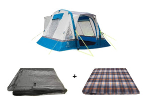 Cubo Breeze Campervan Awning Blue Package, Awning Tents OLPRO
