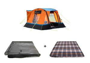 Cubo Breeze Campervan Awning Orange Package Tents OLPRO