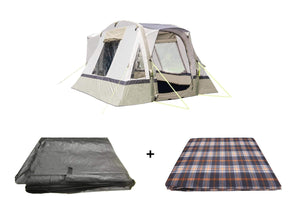 Cubo Breeze Campervan Awning Sage Package Tents OLPRO
