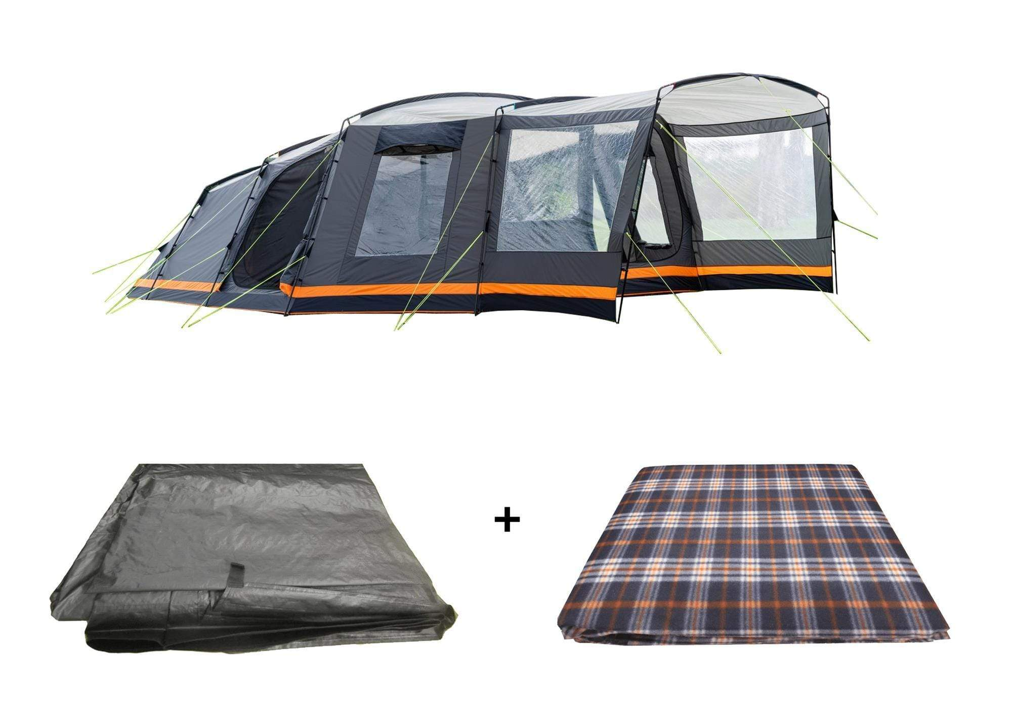 OLPRO Endeavour 7 Berth Family Tent Package