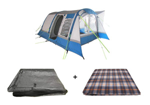 Motorhome Cocoon Breeze XL Inflatable Awning Package, Awning, Carpet & Footprint Groundsheet Tents OLPRO