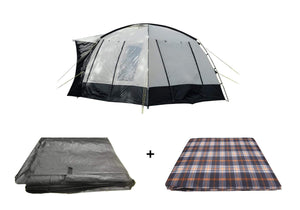 The Cubo Campervan Awning Package, Awning, Carpet, Footprint Groundsheet Tents OLPRO