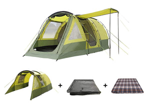 Abberley XL Tent Package , Tent , Extension , Carpet , Footprint Tents Tent Bundle